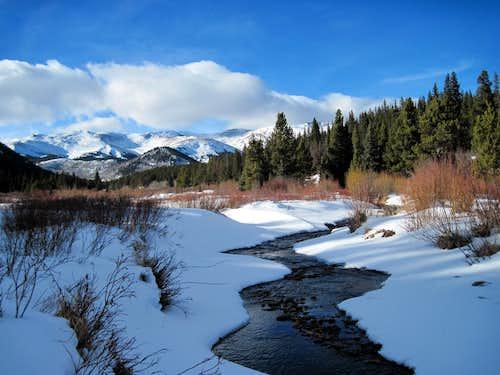 Tarryall Creek, Hoosier Ridge, Red Peak