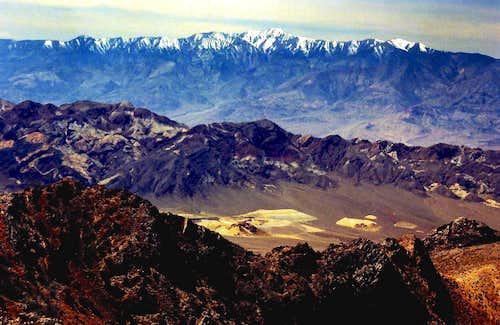Panamint Range from Pyramid Peak