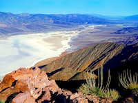 Death Valley north from Dante\'s View Peak