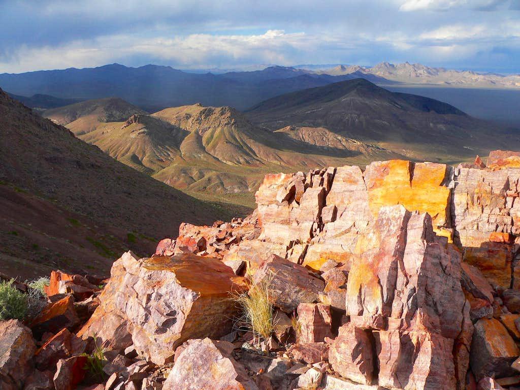 East from 'Daylight Peak'