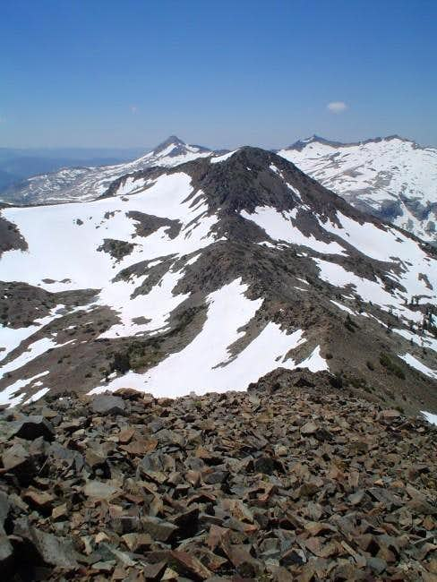 A shot of Jack\'s Peak from...