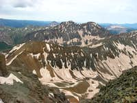 Beattie Peak and Rolling Mountain