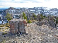 Mount Gog Summit Rock