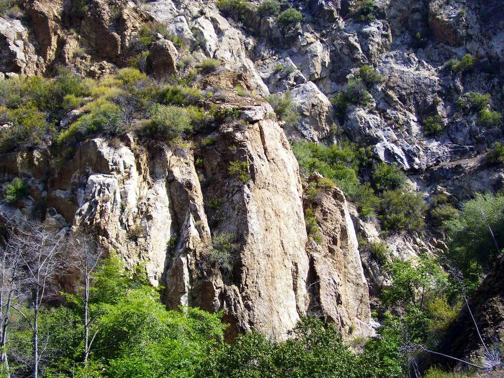 Wheeler Gorge Rocks