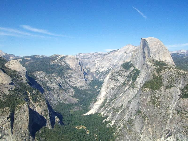 Half Dome and Royal Arches