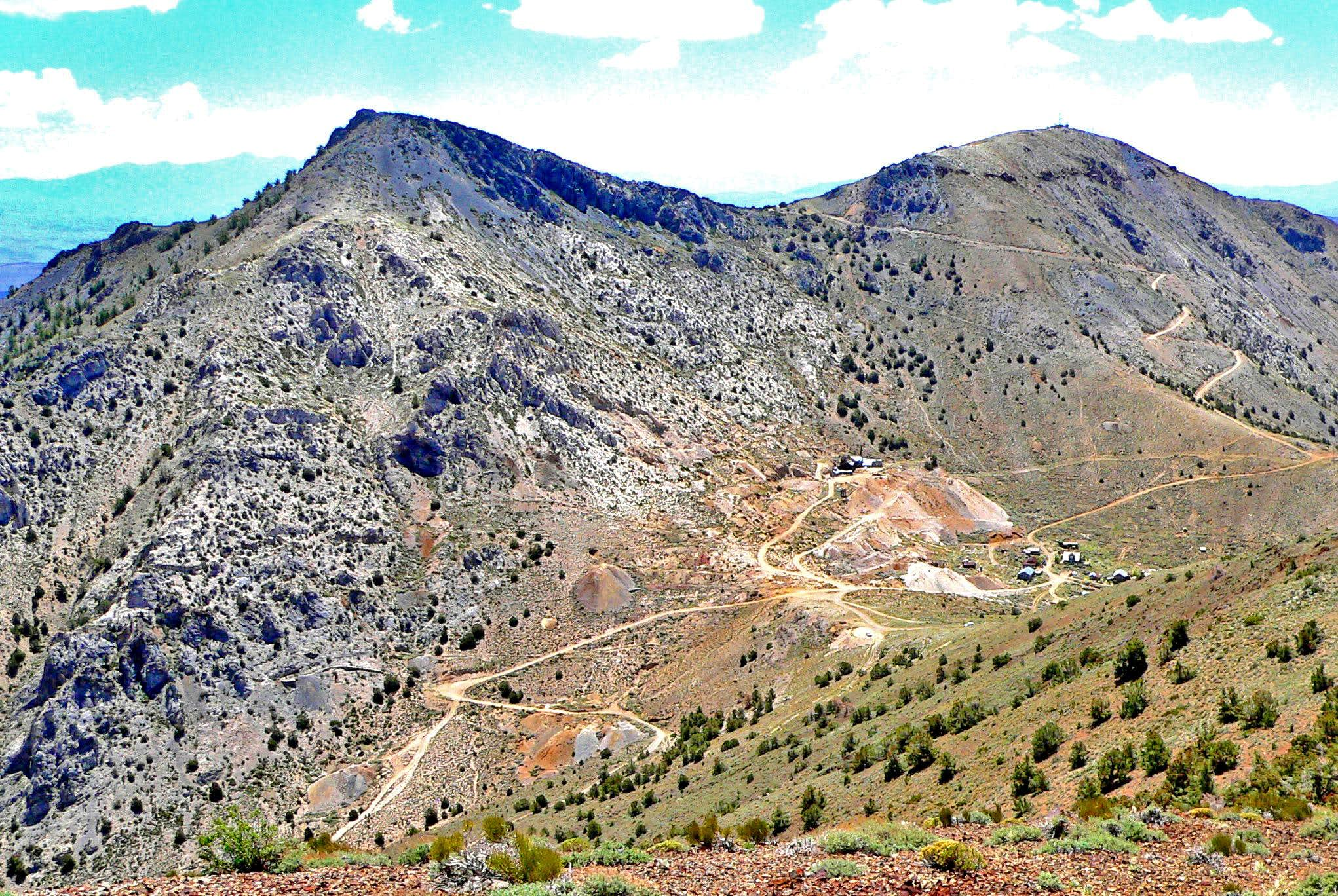 Cerro Gordo Peak