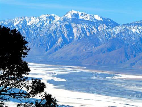 Olancha Peak from Cerro Gordo area