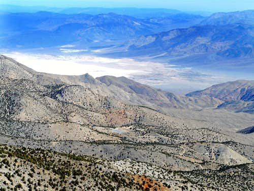 Saline Valley from Cerro Gordo Peak