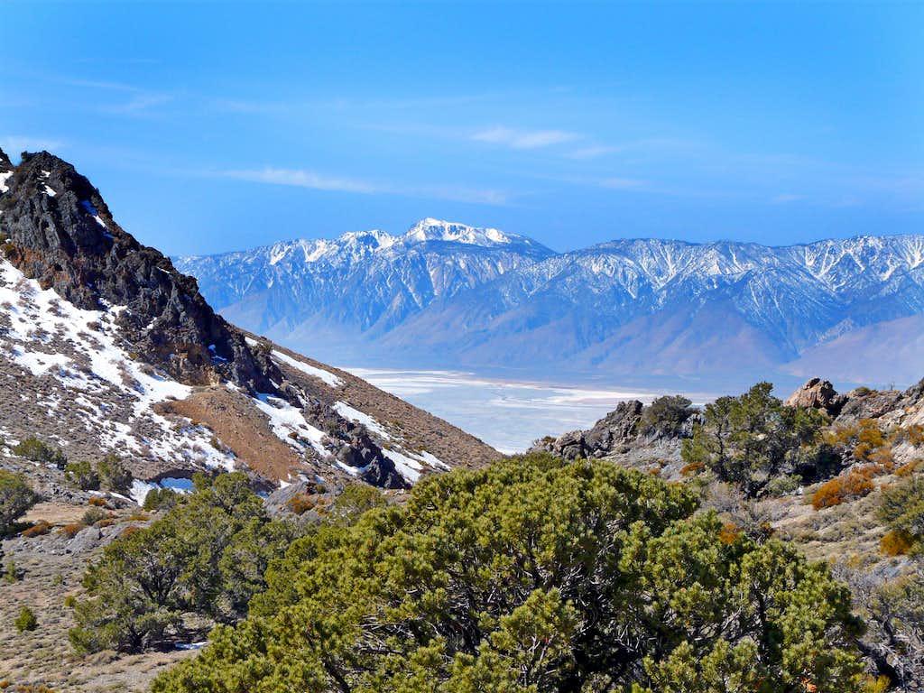 Southeast from Cerro Gordo Peak