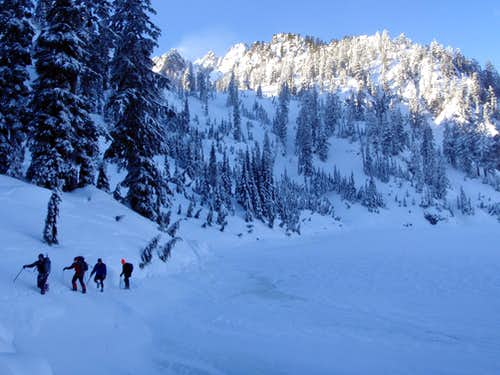 Snow Lake in December