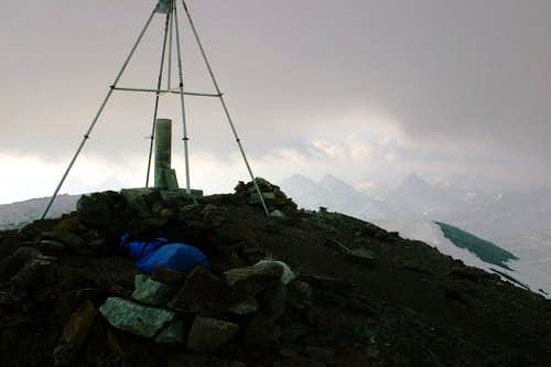 After a night solo ascent a...