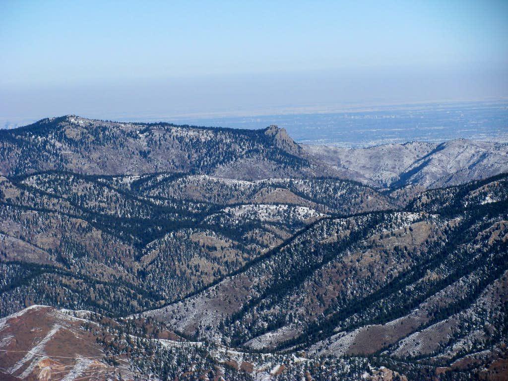 Turkshead Peak - from Long Scraggy Peak