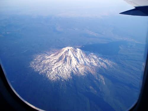 Mount Adams from 20,000 ft.
