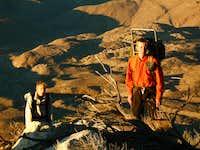 Climbing Peak 6582 at Dawn