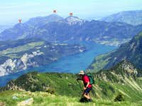 Rigi consists of many peaks....