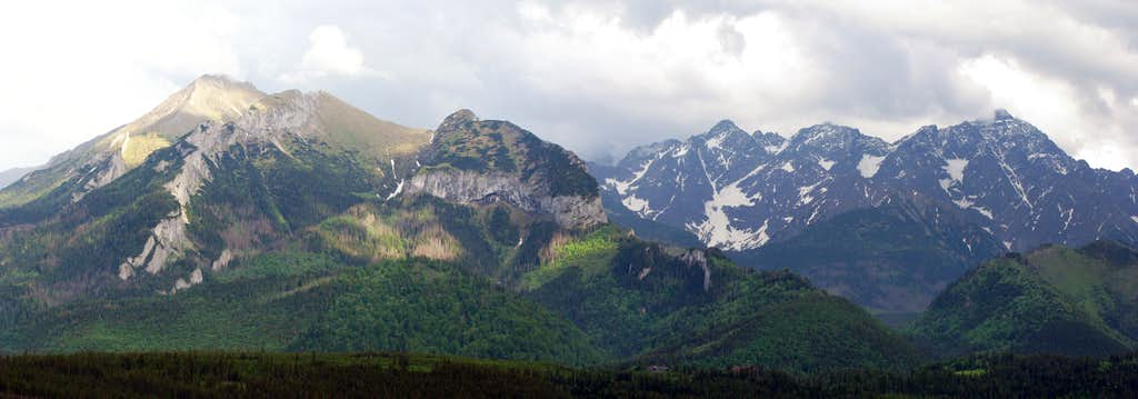Belianske and High Tatras
