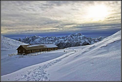 Zahomec / Monte Acomizza / Schoenwipfel from Val Bartolo