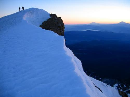 Summit of Mt. Hood. (6/28/04)