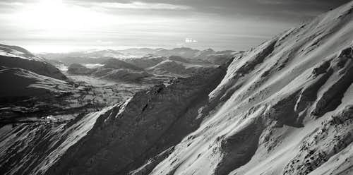 Halls Fell Ridge B&W