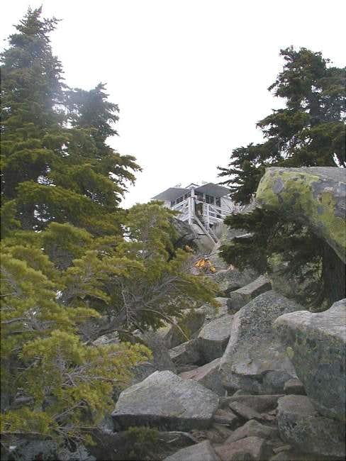 The summit of Mt. Pilchuck...