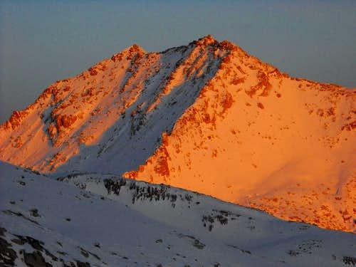 White Baldy, West Ridge