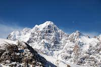 Nameless mountain near the Pamir-e-Thang River, 17 april 2009
