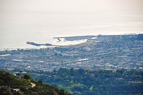 Santa Barbara Harbor viewed from...