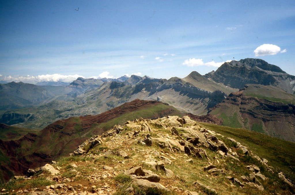 Summit eastwards sight