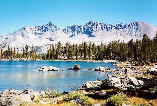 Kaweah Peaks from Little Five...