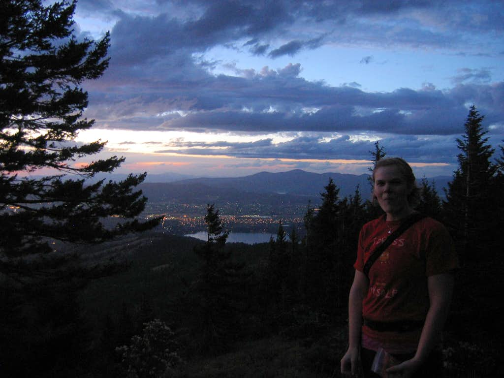 Liberty Lake and Mt. Spokane