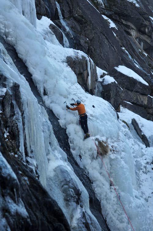 Curt Ice Climbing