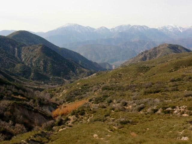 View of Baldy & Cucamonga