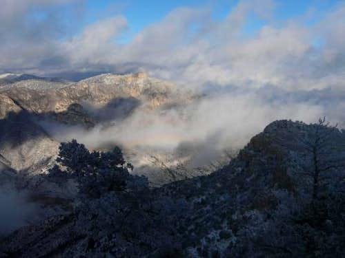 Glory on Hunter Peak