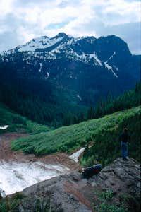 Glacier Basin trail view