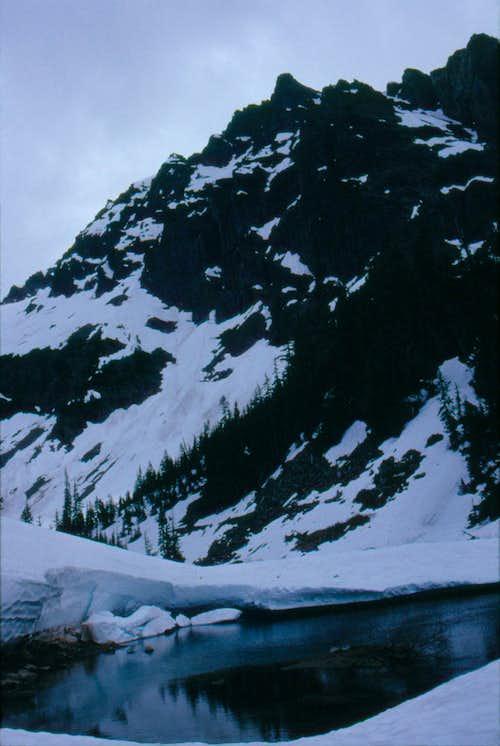 Wilmans Peak, June 16, 1989