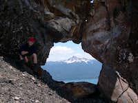 Mt Thielsen looking through...