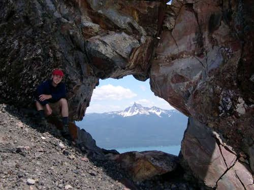 Mt Thielsen looking through...