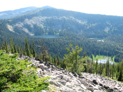 Sheep Hill and the Lakes Basin