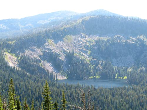 Sheep Hill Above Lakes Basin