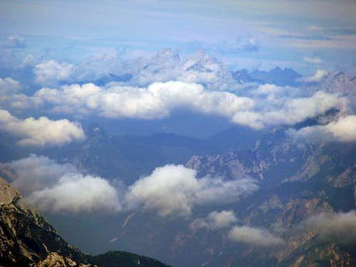 This is Hohe Warte / Monte Coglians