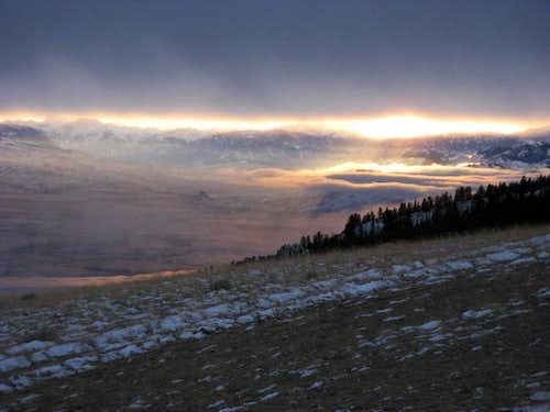Absaroka Sunset
