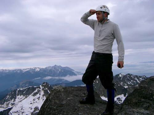 Yours truly on the summit...