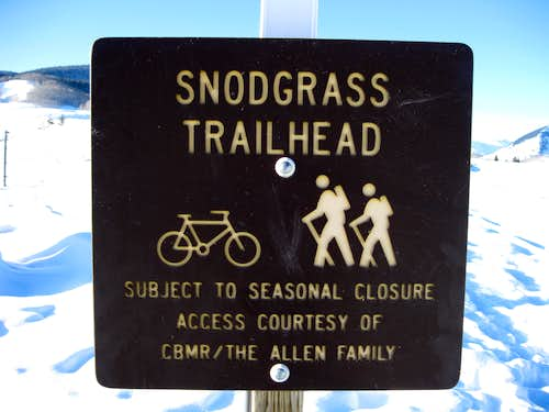 Snodgrass Mountain Route