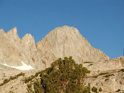 Mt Sill from Elinore Lake -...