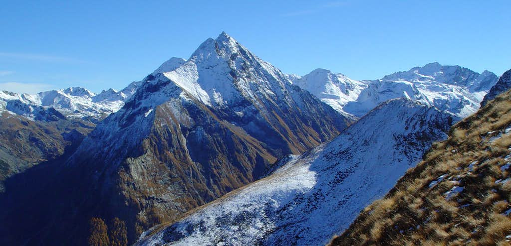 Mont Rafray,  Bec de Viot and  Bec-d'Ansey or d'Ause