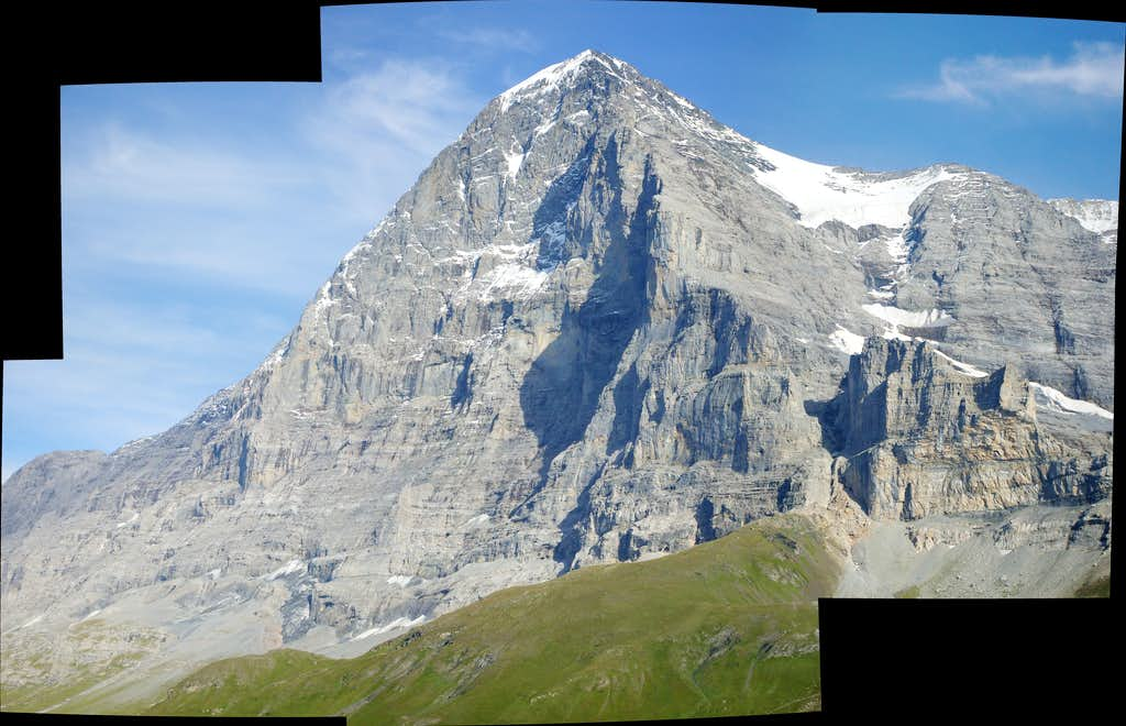 Eiger in clear weather