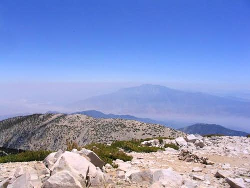 View of San Jacinto Peak from...