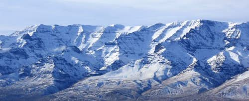 Steens from Mickey Butte