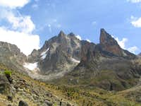 South side of Mount Kenya as...