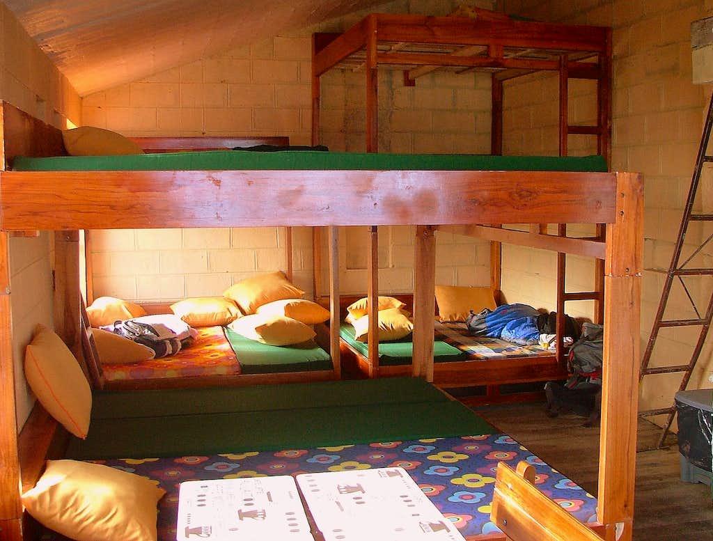 The Nuevos Horizontes bedroom.